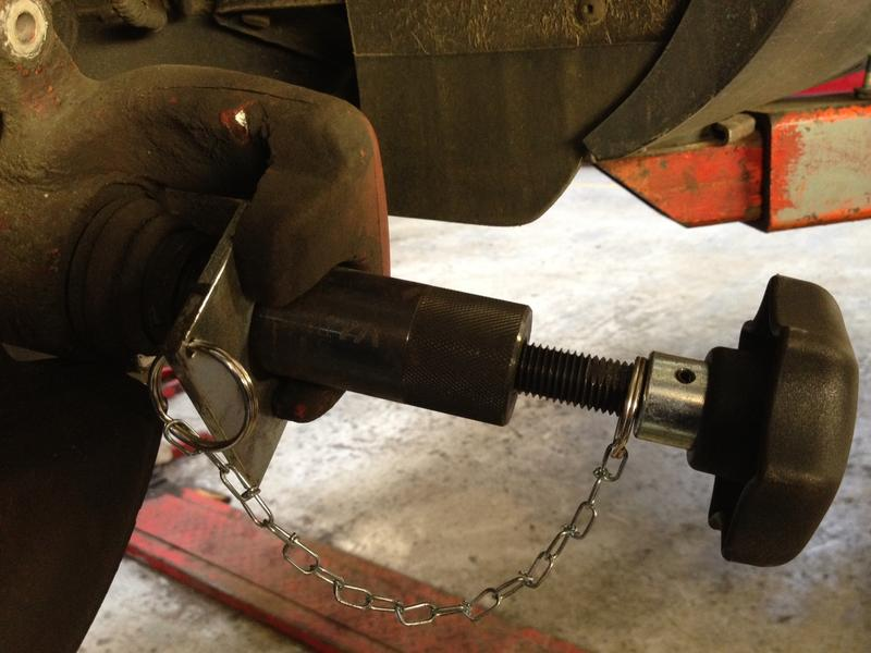 <p>Wind the caliper screw back using a Volkswagen special tool