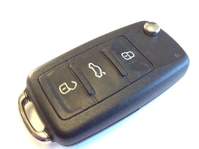 Replace a battery in a VW key remote fob