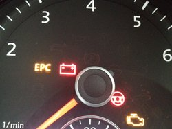 VW dash warning lights  what they mean